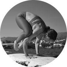 Charline Jones Yoga Pose