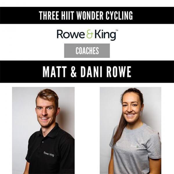 Three HIIT cycling wonder